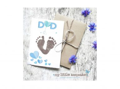 Father's day personalised card
