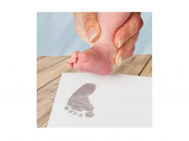 Inkless Print Kit baby footprint, handprint keepsake gift idea