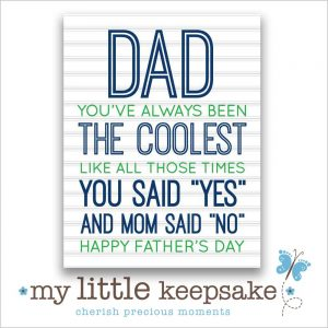 Fathers day funny quote