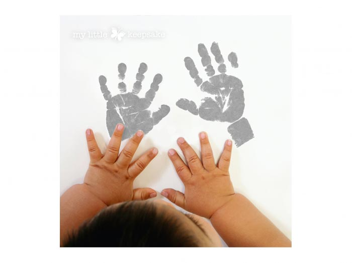 TOP 10 TIPS for getting a great Baby Handprint.